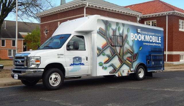 Conway Public Library Bookmobile