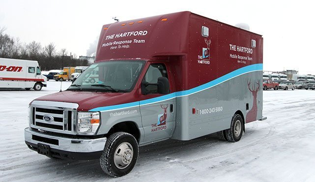The Hartford Mobile Response Team Claims Vehicle