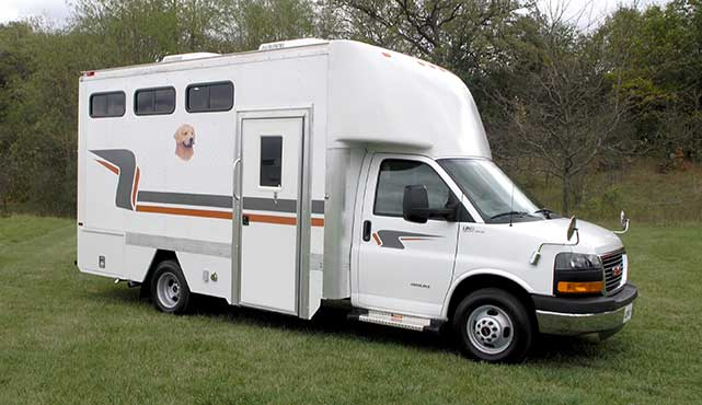 Mobile Dog Kennel Ldv