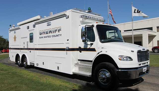 San Mateo County Sheriff Mobile Command Center Ldv