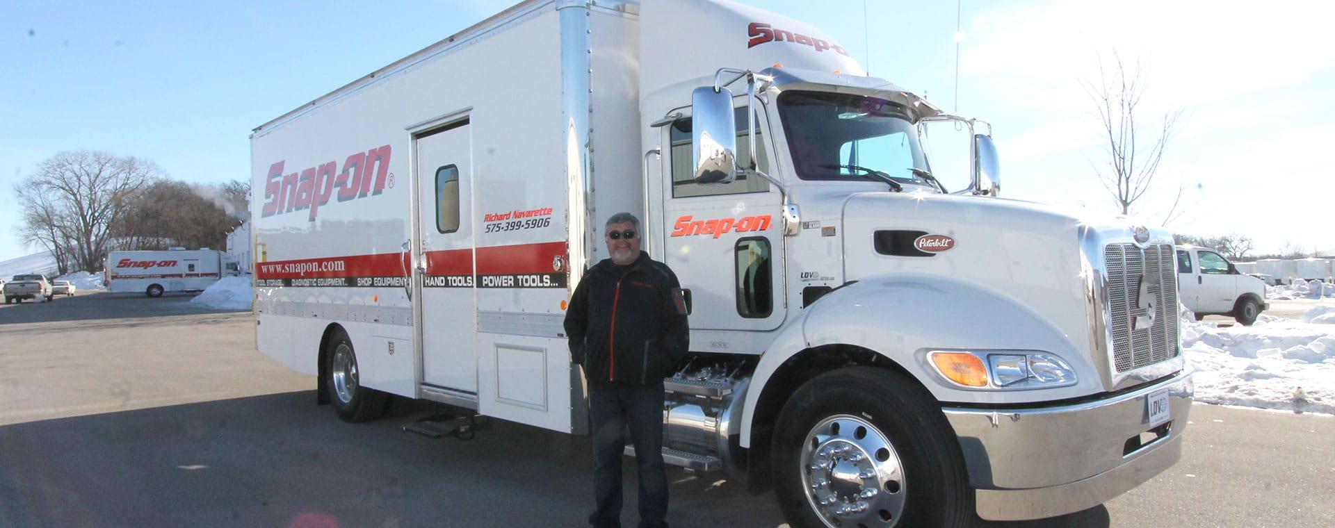 Richard Navarette S 22 Peterbilt Custom Tool Truck Ldv