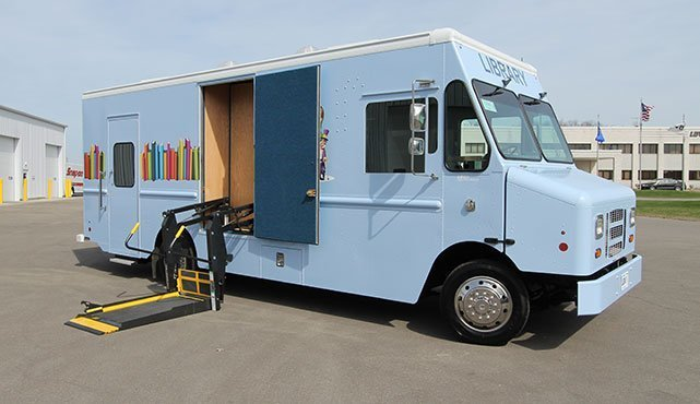 Rapides Parish Public Library Bookmobile
