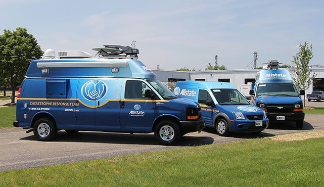Allstate Catastrophe Response Vehicles