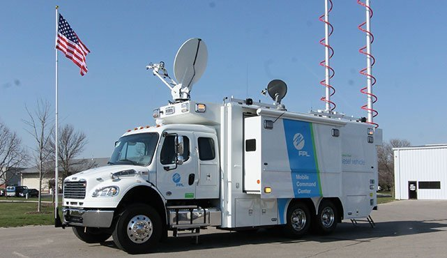 Florida Power & Light Mobile Command Center