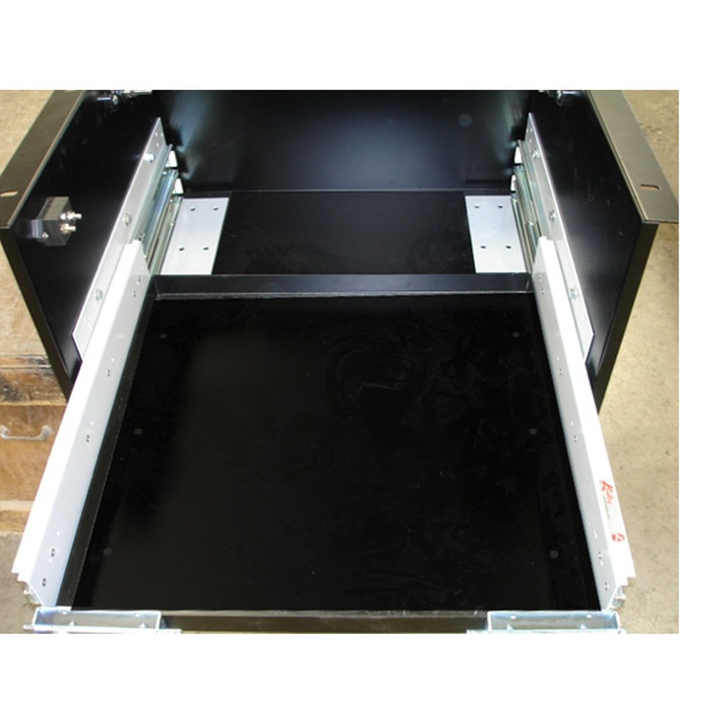 Compartment For Battery Slides Battery Box Door