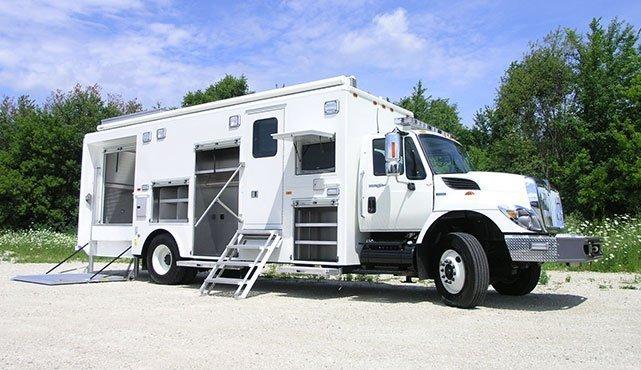 Broward County Sheriff EOD Vehicle