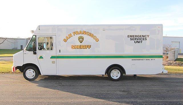 San Francisco Sheriff Emergency Services SWAT Truck