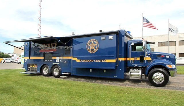 Ascension Parish Sheriff's Office Mobile Command Center