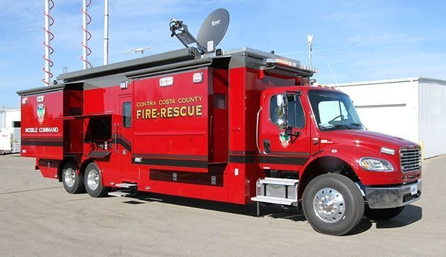 Contra Costa County Fire Protection District Mobile Command Center