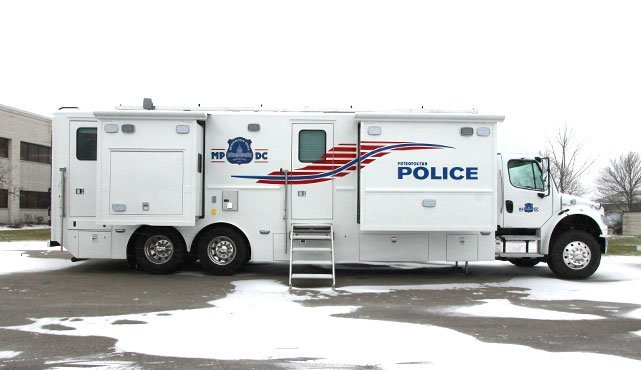 DC Metro Police Mobile Command Center