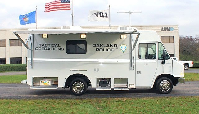 Oakland Police Tactical Operations Unit