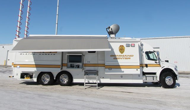 Olathe Police Department Mobile Command Center Ldv