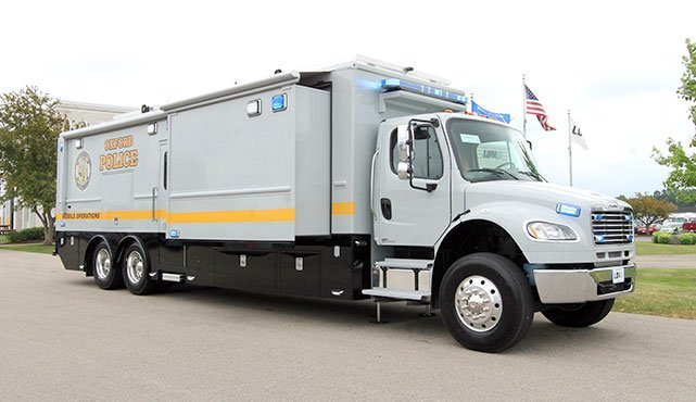 Oxford Police Department Mobile Command Center