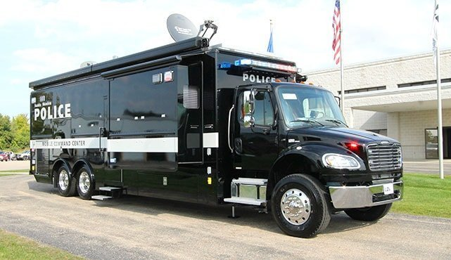 Santa Monica Police Department Mobile Command Unit Ldv