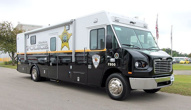 Skokie Police Department Mobile Command Center