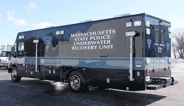 Massachusetts State Police Dive Unit Vehicle Ldv