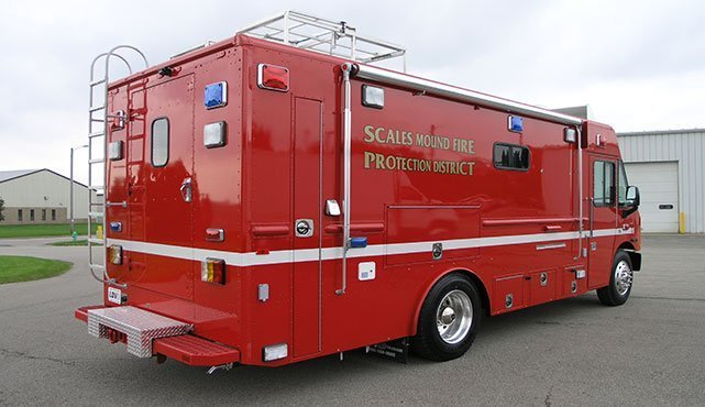 Scales Mound Fire Department Dive Team Response Unit