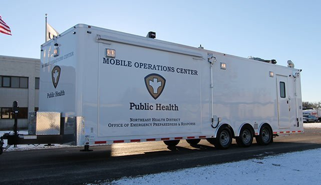 Georgia Department of Public Health Mobile Operations Center