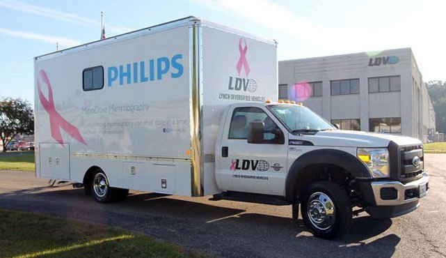 Hennepin County Medical Center Mammography Vehicle