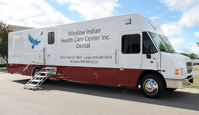 Winslow Indian Health Care Center Mobile Dental Vehicle