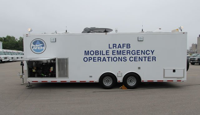 Little Rock AFB Mobile Emergency Operations Center