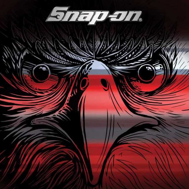 liftgate graphic eagle