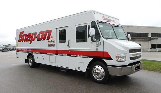 Ken Smart's 24' MT-55 Custom Tool Truck