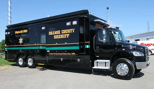 Orange County Sheriff Mobile Command Post