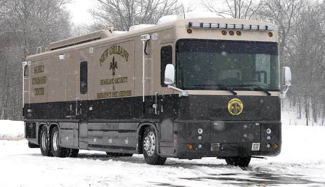 New Orleans Homeland Security & Emergency Preparedness Mobile Command Center