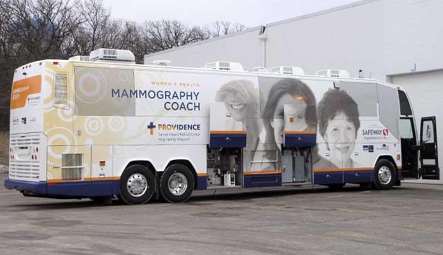 Providence Sacred Heart Mobile Mammogram Coach