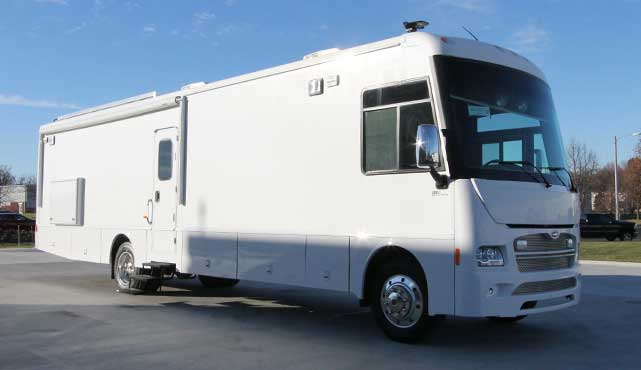 York Poquoson Sheriff's Office Mobile Command Coach