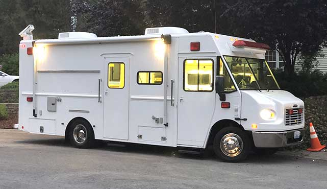 used mobile command center
