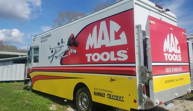 used mac tool truck