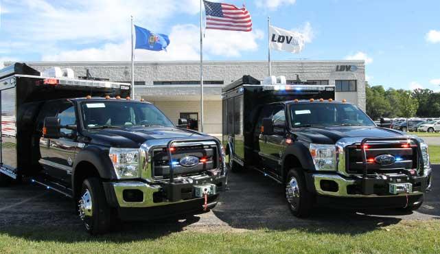 evidence response team unit truck
