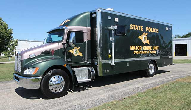 New Hampshire State Police Major Crimes Unit Vehicle