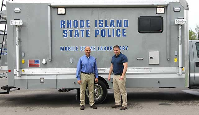 Rhode Island State Police Mobile Crime Lab