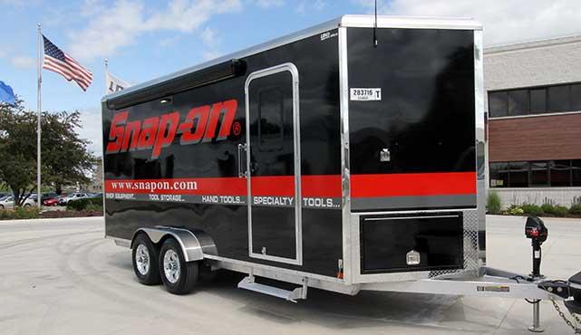 18' custom tool trailer