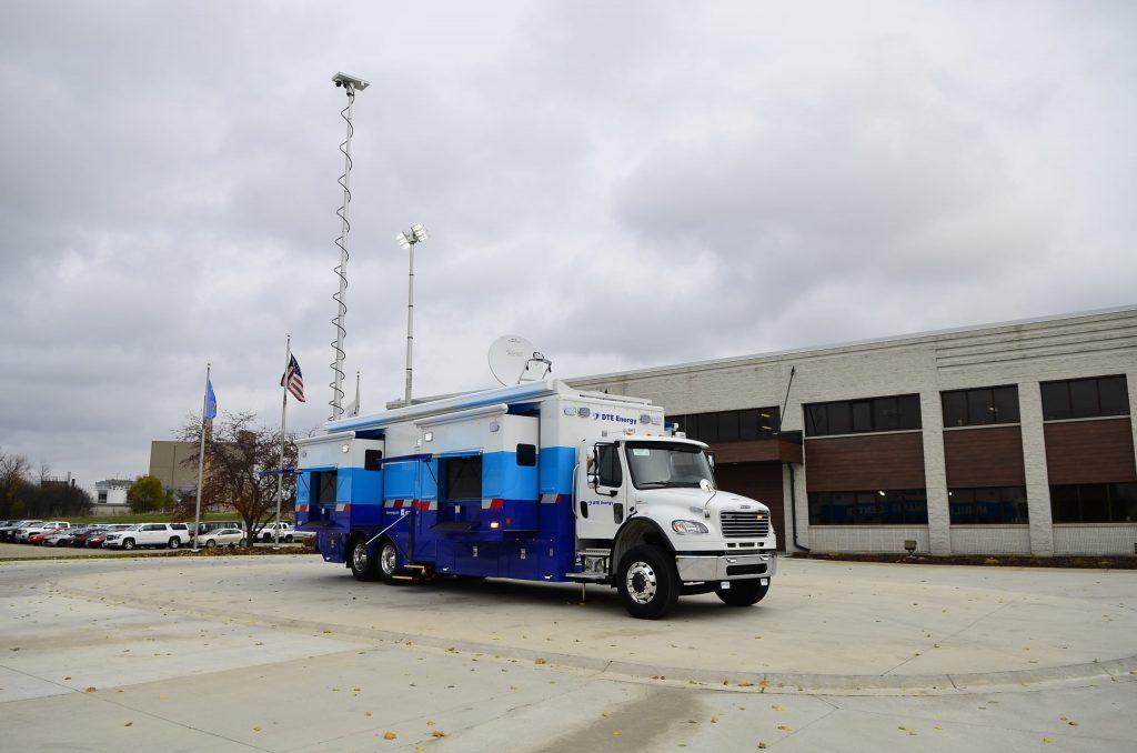 Dte Energy Mobile Command Center Ldv