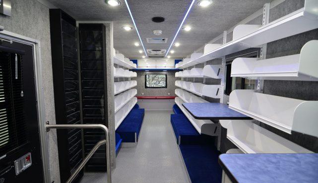 LDV bookmobile Dane County