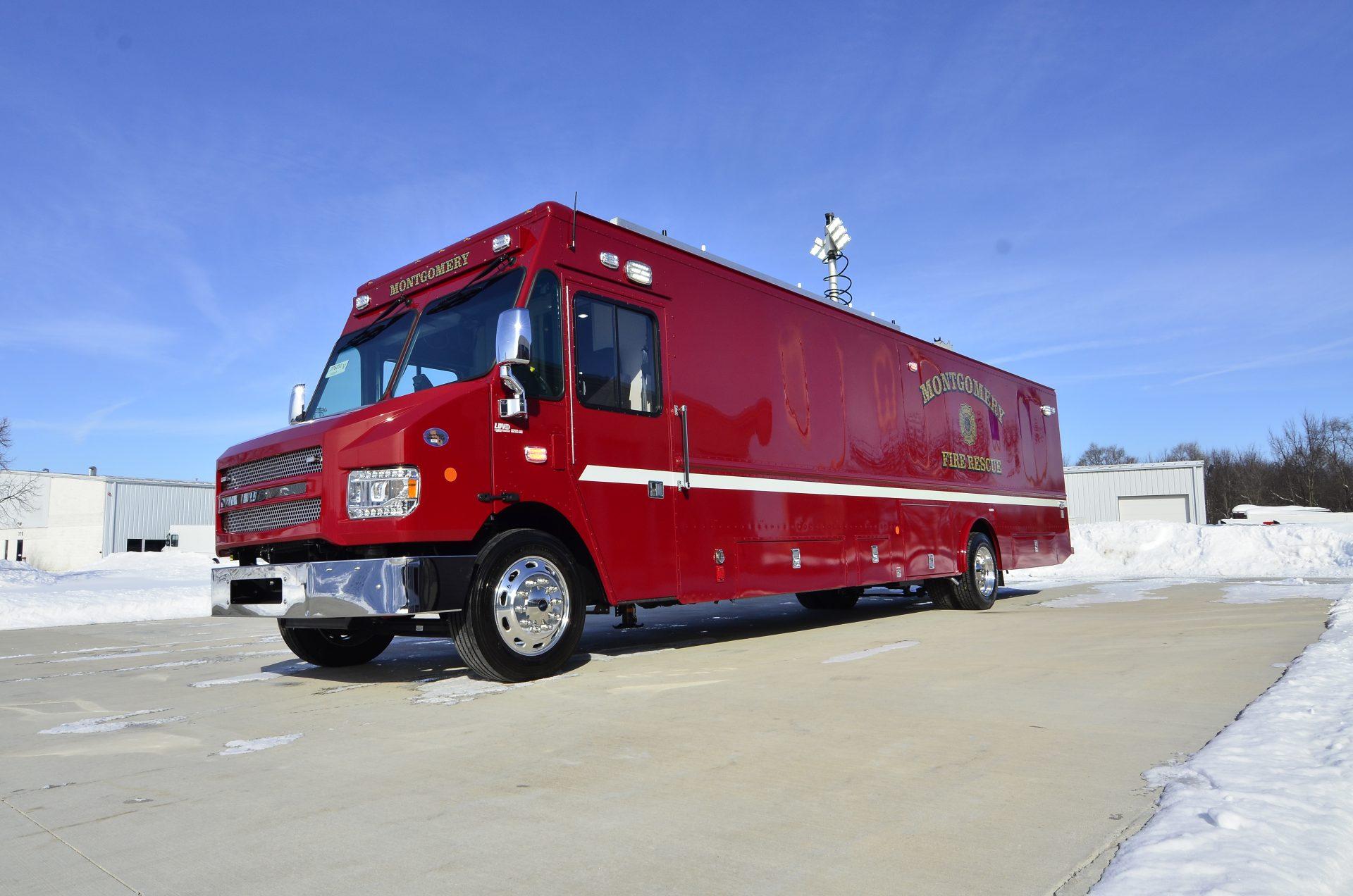 Montgomery Fire Rescue Mobile Command Center Rehabilitation