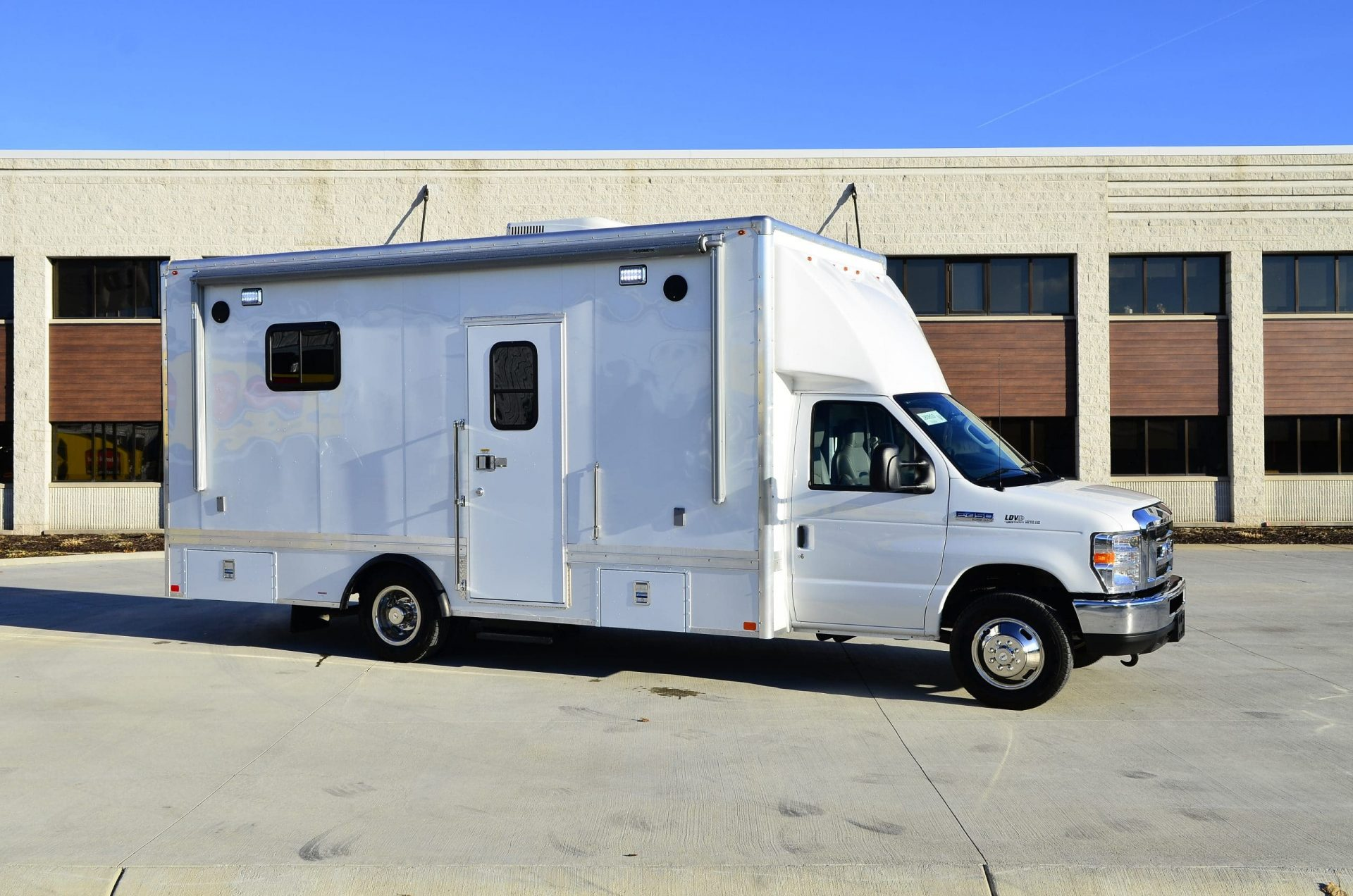 LDV bookmobile Tulsa City County