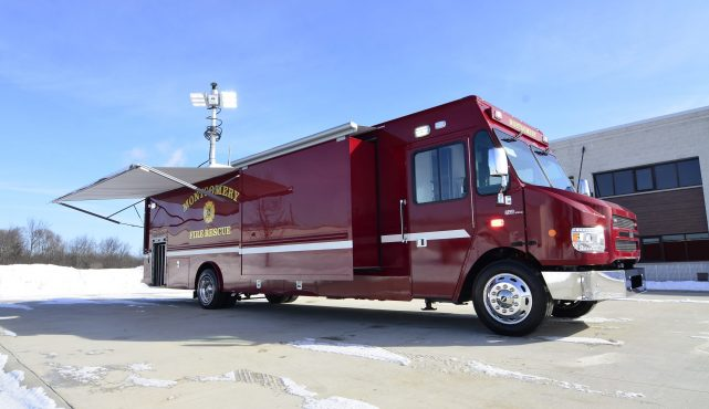Montgomery Fire Rescue Mobile Command Center Rehabilitation