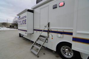 Sacramento PD Mobile Command Center