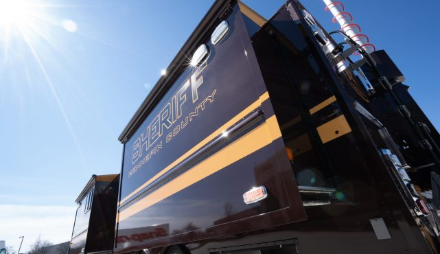 Hennepin County Sheriff Mobile Command Center
