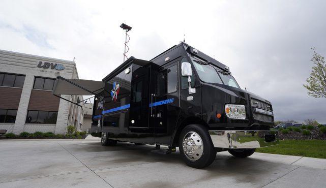 LDV-Coppell Police Mobile Command Center