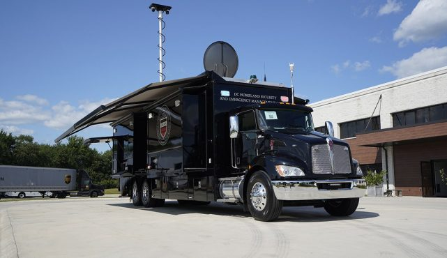 Homeland Security and Emergency Management Agency (HSEMA) Mobile Command Center
