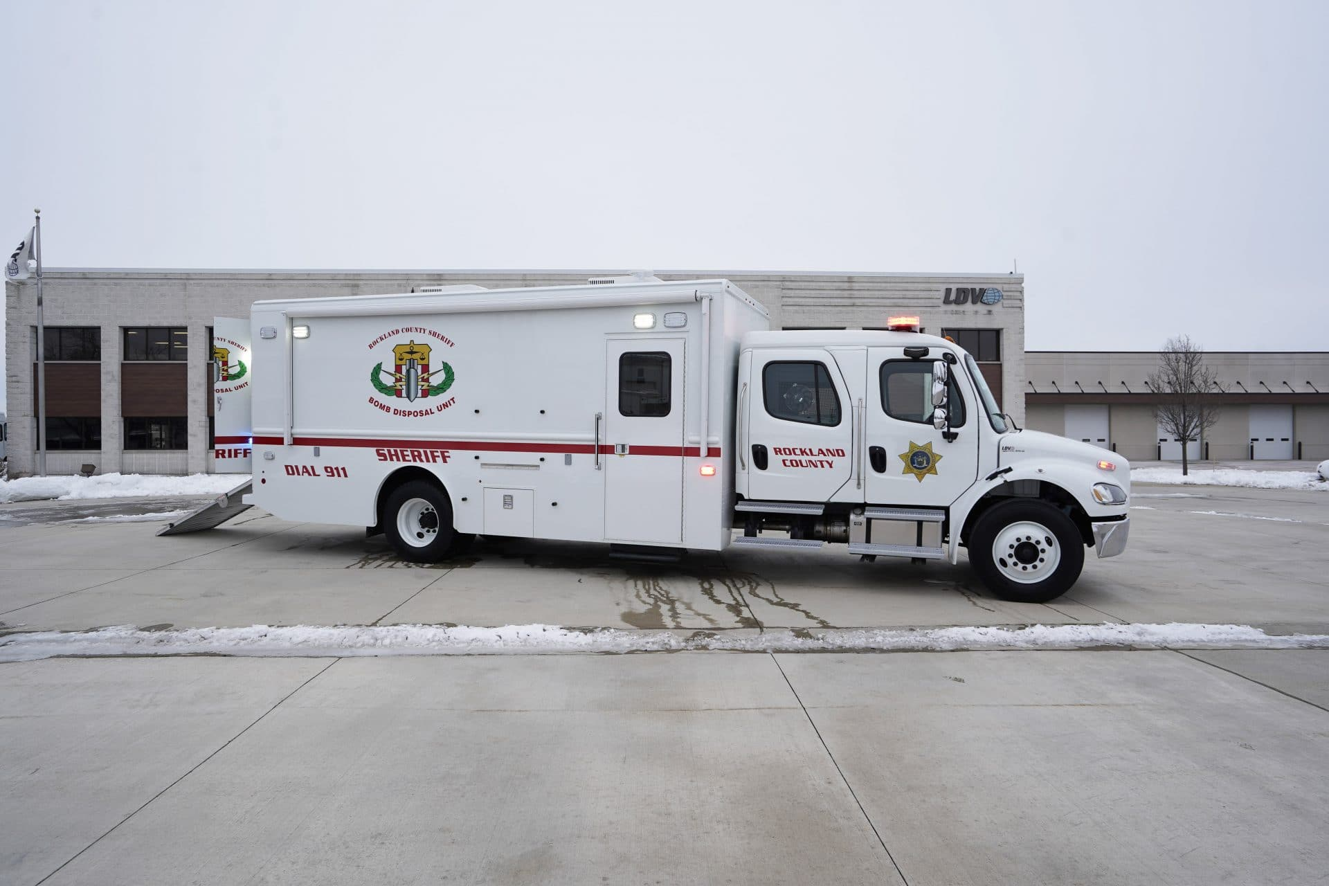 LDV-Rockland County Sheriff Bomb Truck