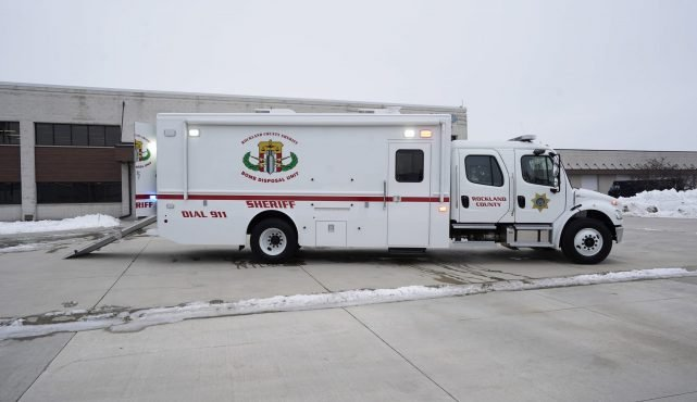 LDV-Rockland County Sheriff Bomb Squad Truck