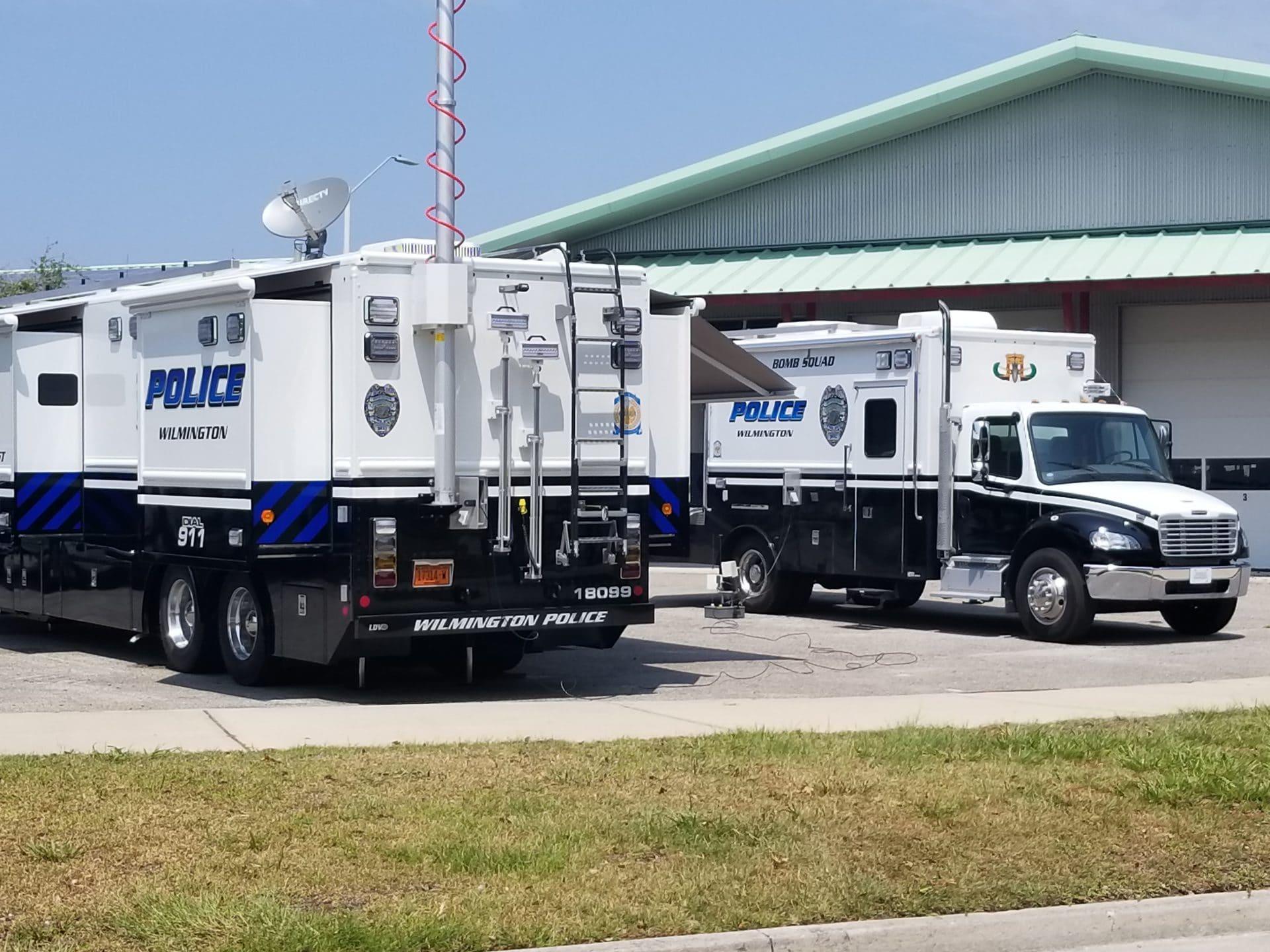 LDV-Wilmington Police Bomb Squad Truck