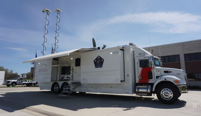 Calcasieu Parish OHSEP LDV Mobile Command Vehicle